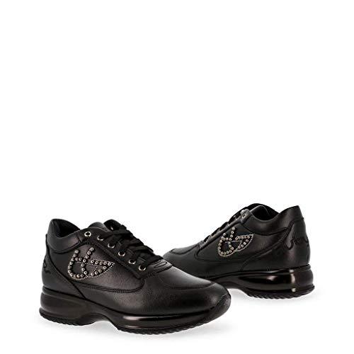 Byblos Blu Nero Scarpe Donna 687001 Basse Sneakers Y4qX4S