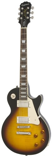 Epiphone Les Paul STANDARD PLUS-TOP PRO Electric Guitar with Coil-Tapping, Vintage Sunburst ()