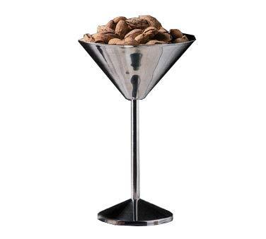 American Metalcraft (JMART15) 15'' Stainless Steel Martini Glass Server by American Metalcraft