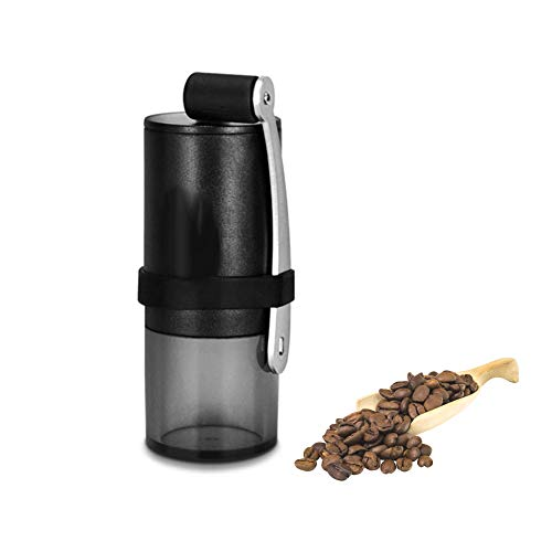 Manual Coffee Bean Grinder, Whole Bean Mini Hand Size Conical Burr Mill Portable Travel for Espresso, French Press, Spice, Herb, Pepper Grinder by Fumao CUG