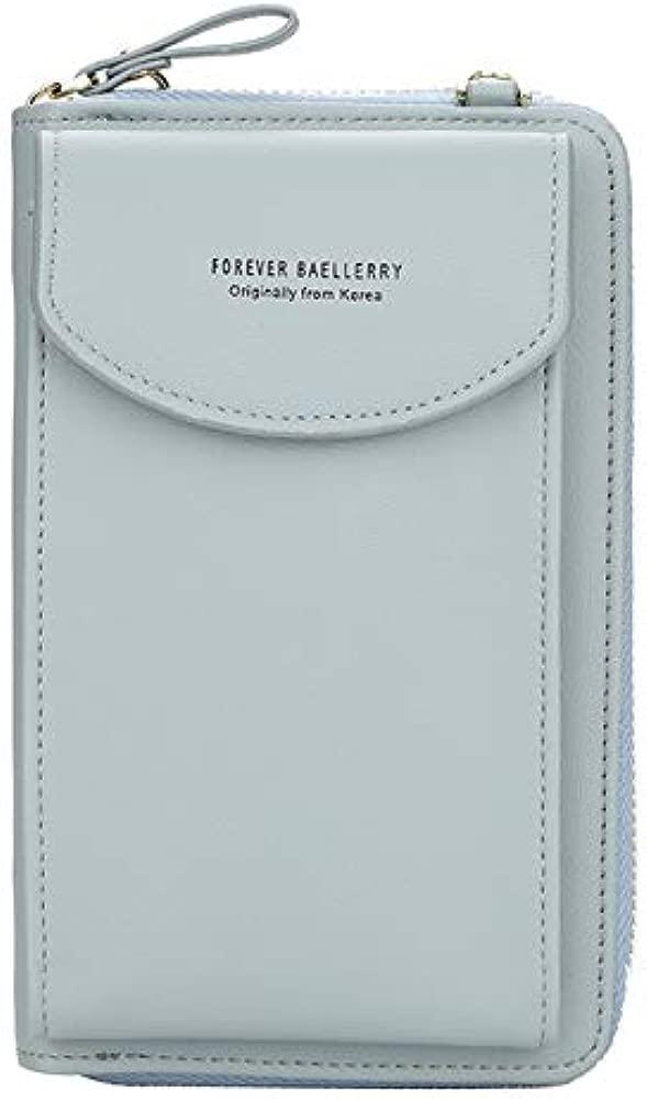 HuXwei 2019 mujeres billetera marca teléfono celular cartera ...