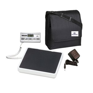 Health O Meter 349KLX Medical Weight Scale with AC Adapter & Case