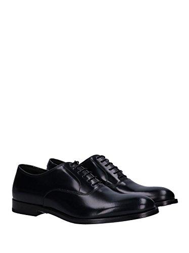 DOUCALS Stringata Oxford Blu in Pelle Men Mod. DU1001PRESUF028
