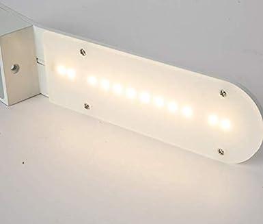 HANJIANJI Lámpara de pared moderna ligera creativa cama Sala de ...