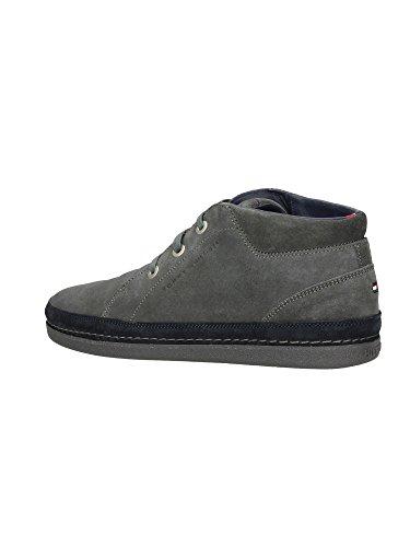 Zapatillas polacchino Hombre Tommy Hilfiger Mod. Felix 5B FM56817897 Coronel Negro o Marrón. gris