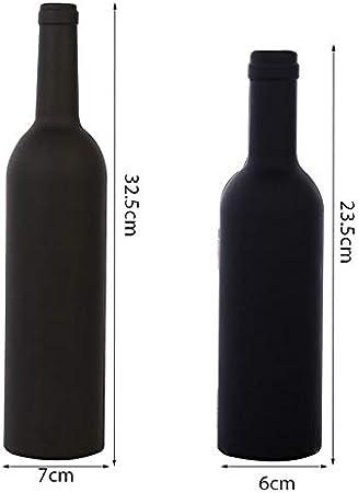 YUTRD ZCJUX 1 Set 3pcs / 5pcs Botella de Vino Conjunto de sacacorchos de Corcho de Herramientas con Forma de Botella con Forma de Botella Regalo de abridor de Botellas y Venta Libre