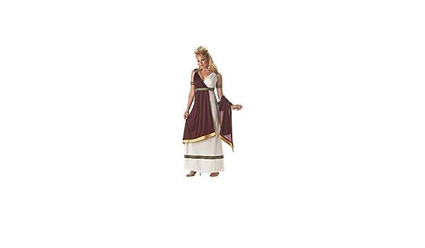 Disfraz de emperatriz romana mujer S: Amazon.es: Juguetes y juegos