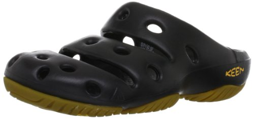 KEEN Men's yogui Slipper, Black, 10 M US