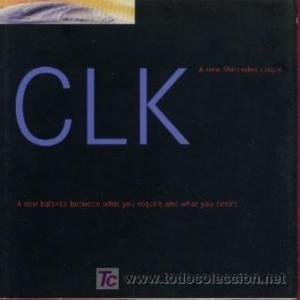 1998-mercedes-clk-320-coupe-advanced-factory-color-sales-brochure-usa-excellent-