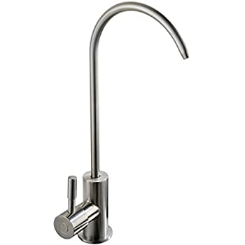 MINGOR Water filter faucet, Lead-Free Kitchen Sink Drinking Water ...