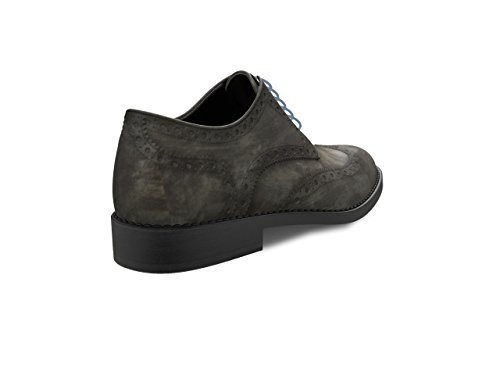 Zapato gris Dis – Full Brogue Derby Monica – Mujer 48qZ8E