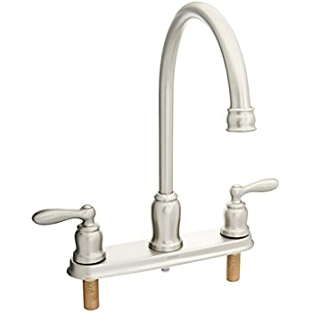 Moen Ca87000 High Arc Kitchen Faucet With Side Spray From