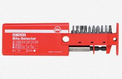 - Wiha 79243 Slotted Phillips and Torx Bit Selector with Magnetic 1/4-Inch Bit Holder