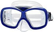 yotijar Snorkel Mask Set Snorkeling Gear – Dry Snorkel Set and Mask Kids Adults Anti Fog 120 Degree Wide Seavi