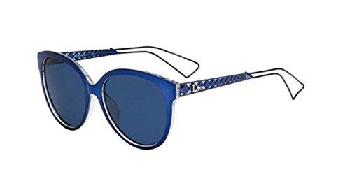 New Christian Dior DIORAMA 2 TGV/KU Blue/Blue - Diorama Sunglasses 2 Dior