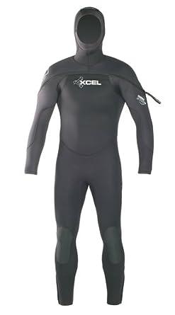 Amazon.com: Xcel de los hombres Hydroflex Polar con capucha ...