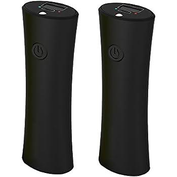 Ewarmer 2200mAh Powerbank for Bluetooth Earbuds (2PCS 2200mah/pcs = 4400mah), Portable Charger with USB Output, Portable Power Bank ,Battery Charger for iPhone 7/7 plus/6s/6s plus/ Samsung