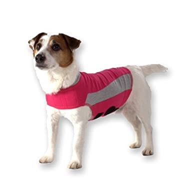 ThunderShirt Polo Dog Anxiety Jacket, Pink, Medium