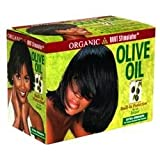 Beauty : Organic R/s Root Stimulator Olive Oil No-lye Relaxer Extra Strength Kit