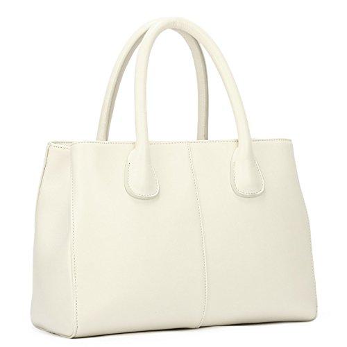 GUANGMING77 Meine Damen Handtasche Tasche Tasche Tasche Weiblichen Xiekua Paket Temperamental white CDdYd