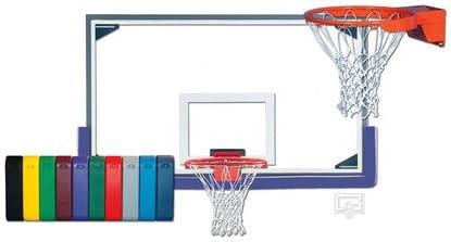 インドアマスターGymnasiumガラスバスケットボールシステム スカーレット