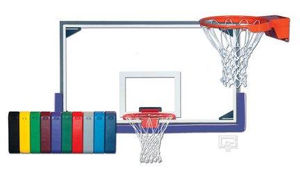 全ての インドアマスターGymnasiumガラスバスケットボールシステム B0016W9VLK スカーレット, 【コンビニ受取対応商品】 e22c4488