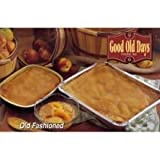 Good Old Days Old Fashioned Peach Cobbler - Prebaked, 2 Pound -- 6 per case.