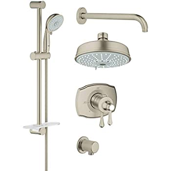 Grohflex Authentic 4 Spray 2 Function Thermostatic Shower