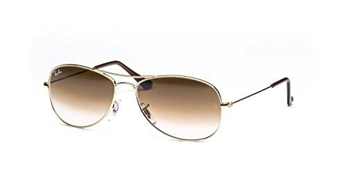 Arista Cockpit Gradient Brown Items crystal 2 Ray Aviator Ban Rb3362 Bundle Sunglasses PSEw86qE