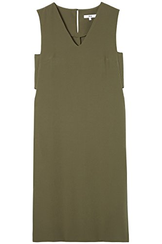 Cut Abito khaki Find Side Verde Out Donna COwqH
