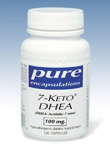 Pure Encapsulations - 7-Keto DHEA 100 mg 120 vcaps
