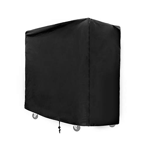 SIRUITON Cooler Cart Cover Fit for Most 80 QT Rolling Patio Cooler Cover Waterproof -18 Month Warranty 37.4 x 19.68 x 36.22in (Rolling Cart With Cover)