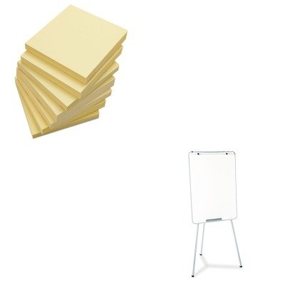 KITQRT70EGUNV35668 - Value Kit - Quartet Oval Office Dry Erase Presentation Easel (QRT70EG) and Universal Standard Self-Stick Notes (UNV35668)
