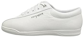 Easy Spirit Ap1 Sport Walking Shoe, White Leather, 5 M 4