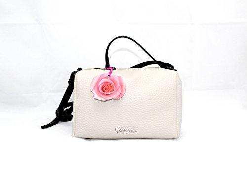 CAMO - Bolso mochila  de cuero sintético para mujer blanco bianco