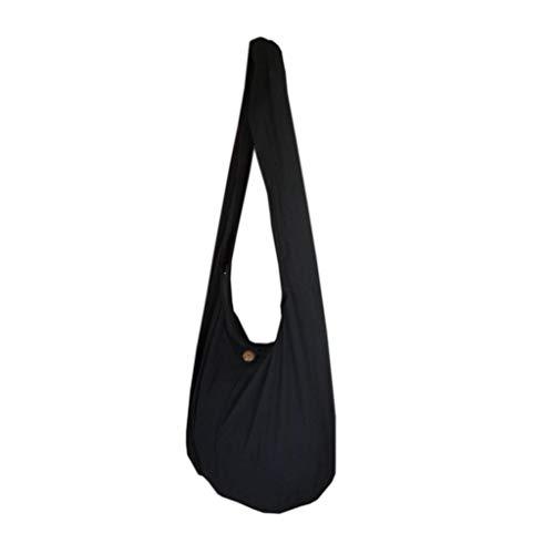 PANASIAM Schulterbeutel, in 2 Größen, vielen Farben & Design, mit extra Innentasche, doppelten Stoff, guter Qualität