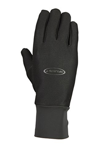 Seirus Innovation 1170 Hyperlite Ultra Thin Form Fit Winter Cold Weather Glove with Soundtouch Technology, Black, Medium/Large
