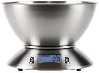 Amazon.com: Prochef – Báscula de cocina de acero inoxidable ...