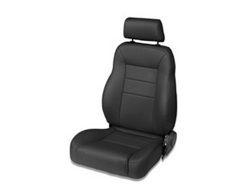 All Pro Off Road (Bestop 39451-15 TrailMax II Pro Black Denim All-Vinyl Front High Back Driver-side Jeep Seat for 1976-2006 Jeep CJ and Wrangler)