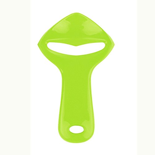 Orange Peeler, Peels the Skin Off Most Fruit Including Oranges, Mangos, and Papaya, Easy-To-Use Design is BPA Free and a Great Addition to Any Kitchen(Green)