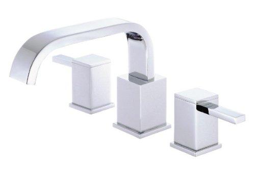 Danze D300933T Reef Two Handle Roman Tub Faucet Trim Kit, Valve Not Included, Chrome