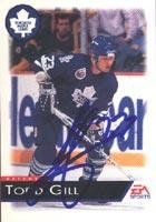 Todd Gill Toronto Maple Leafs 1993 EA Sports Autographed Card. This item comes with a certificate of authenticity from Autograph-Sports. Autographed ()