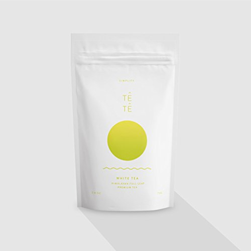 TETE WHITE Tea - Loose Leaf Full Leaf Himalayan Premium Tea