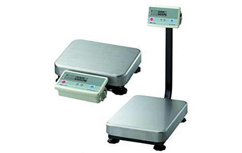 Low Profile Bench Scale - A&D Engineering FG-150KBM Series FG-K Bench Scale, Low Profile Model, Medium Pan, 300lbs Capacity, 110V