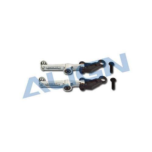ALIGN T-REX 250 Metal Washout Control Arm Silver H25011AF