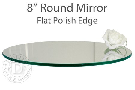 TroySys Glass Table Mirrors for Wedding and Party Centerp...