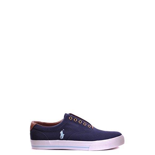 POLO RALPH LAUREN VITO navy scarpe uomo sneakers tessuto Blu