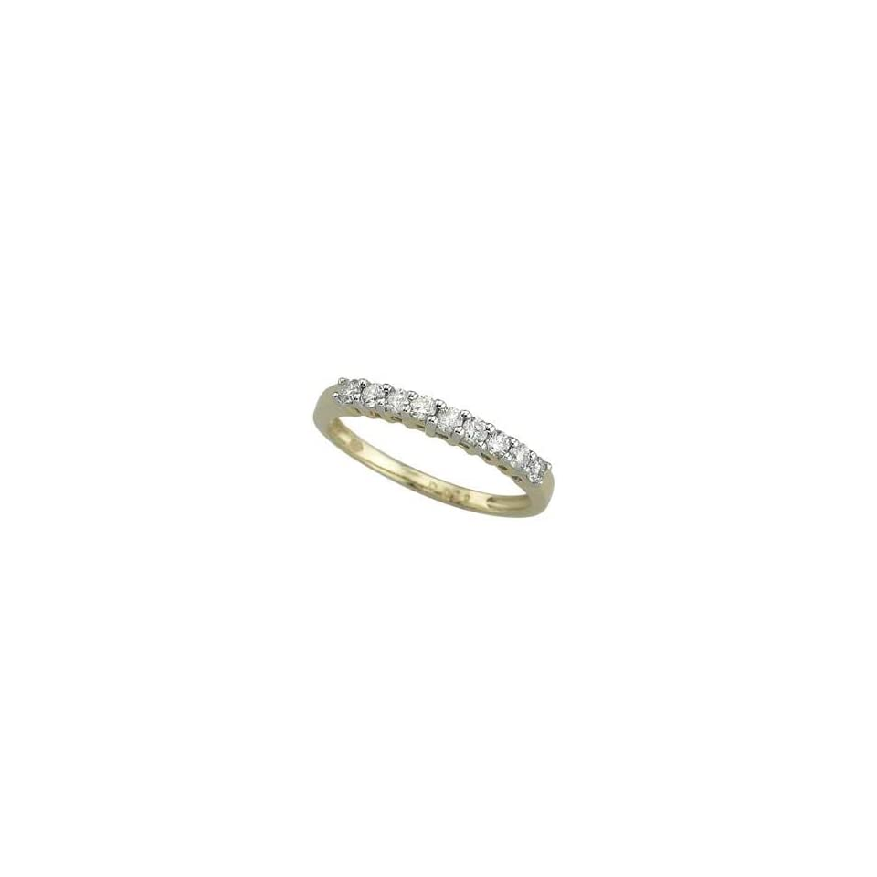 14K Yellow Gold Diamond Ring Diamond quality AA (I1 I2 clarity, G I color)