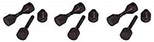 Sumner Manufacturing 781235 Qwik Pins, Carbon Flange Pins, 5/8'' - 1-5/8'', Sold per Pair (3-(Pack))