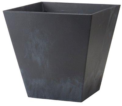 black flower pot 8 - 6